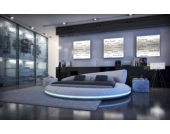 Sofa Dreams Berlin Design Rundbett MEZZO LED