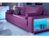 Inosign Schlafsofa 3-Sitzer, wahlweise mit Beleuchtung