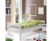 Einzelbett aus Kiefer Massivholz Jugendzimmer