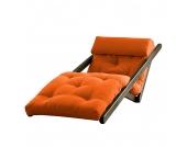 Schlafsessel Figo - Futon Wenge/Orange, Karup