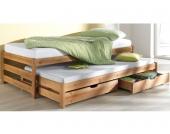 Schlafwelt Funktionsbett, natur, FSC®