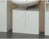 Waschtischunterschrank in Weiß 2 türig