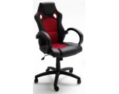 MCA Chefsessel Rocco Racing, schwarz/rot