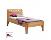 Einzelbett Comfort - Buche massiv - geölt - Liegefläche: 90 x 200 cm, MS Schuon