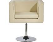 klassisch-moderner Lounge-Sessel CUBE, weich gepolstert & drehbar, aus bis zu 5 Farben wählen