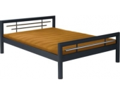 Reality Doppelbett Sonja 140 in schwarz