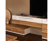 TV Lowboard zum Hängen mit Eiche Massivholz