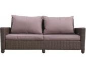 Lounge Sofa 3-sitzig Ibiza verstellbar