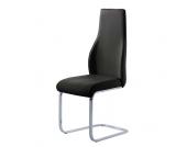 Freischwinger Stuhl in Schwarz modern