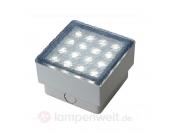 Deko-Bodeneinbauleuchte LED STEIN Q3, 6.500 K