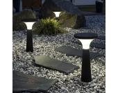 Solarleuchte New Assisi Aton 450 schwarz