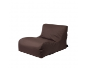 Sitzsack Lounge Sessel in Braun Outdoor
