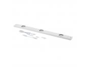 LED-Unterbauleuchte Pinot 3-flammig - Weiß Metall, StarLicht