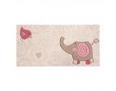 Kinderteppich Happy Zoo Elephant - 70 x 140 cm, Sigikid