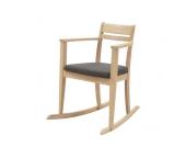 Stuhl zum Schaukeln Eiche Massivholz