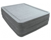 Luftbett, mit integr. Elektropumpe, »Comfort-Plush Elevated Air Kit Queen«, Intex