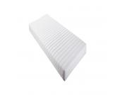 Rollmatratze Allergena - Weiß - 90 x 200cm, Relita