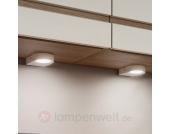 2er Set LED-Unterbauleuchten Lavaio in Weiß