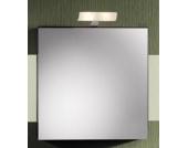 Lanzet Spiegelschrank 60L Weiß L2