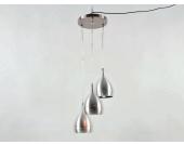 Pendellampe Pendelleuchteaus gebürstetem Metall Farbe: edelstahl