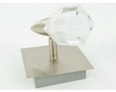 Wandleuchte Deckenstrahler Metall gebürstet 230V G9/40W