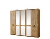 Kleiderschrank mit drei Spiegeltüren
