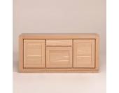 Esszimmer Sideboard aus Eiche Massivholz 3 Türen