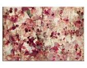 Leinwandbild, Home affaire, »Vintage Blütenmuster«, in 2 Größen