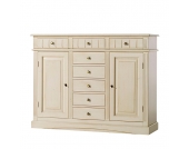 Highboard Capri - Fichte massiv, Gradel