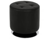 Sitz-Hocker aus Kunstleder (100% Polyurethan) drehbar
