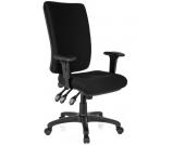Bürostuhl / Chefsessel ZENIT HIGH schwarz hjh OFFICE