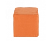 Sitzwürfel Fredrik - Stoff Orange, Fredriks