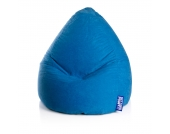 Sitzsack Easy XXL - Microfaser - Blau, SITTING POINT