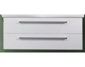 Lanzet K3 Doppelwaschtischunterschrank 122 Weiß/Pinie