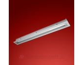 Moderne Deckeneinbauleuchte Gea für Außen, 125 cm